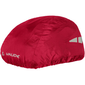 VAUDE Helmet Raincover indian red